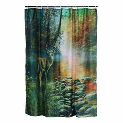 Rivers Edge Products Deer Shower Curtain