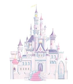 RoomMates Disney Princess Castle Peel and Stick Giant Wall D