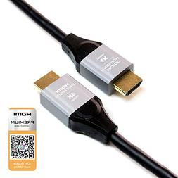 Tera Grand - 10 FT Premium HDMI Certified 2.0 Cable, 4K Ultr