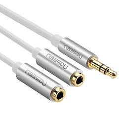 d8adf8e3aad UGREEN 3.5mm Audio Stereo Y Splitter Extension Cable 3.5mm M