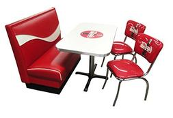 Vitro Seating Products CB-I Dinette Furniture Set with Coke
