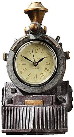All Aboard Locomotive Train 9.5 Wall Clock