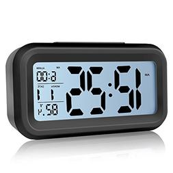 Digital Alarm Clock,ZUOXI Easy to Set and Watch with Large L