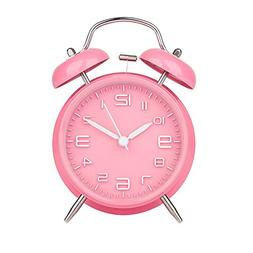 Alarm Clock for Heavy Sleepers, Warmhoming Retro Twin Bell L