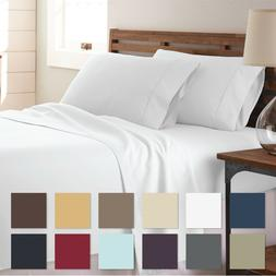 All Season Premium Ultra Soft 4 Piece Bed Sheet Set  by The