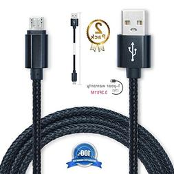 Hankuke Android Charging, Multi Length and Color Sturdy Nylo