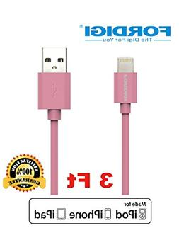 FORDIGI?APPLE CERTIFIED Extra Long  USB Sync and Charging Li
