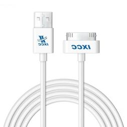 Apple certified 10ft 30 pin iPhone4/4s Cable White EXTRA LON