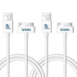 iXCC 3ft Apple MFi Certified 30 pin to USB Sync and Charge C
