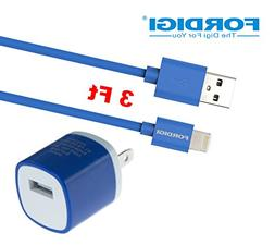 FORDIGI® APPLE CERTIFIED  USB Sync and Charging Lightning C