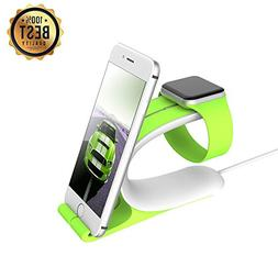 LOCA 2-in-1 Smart Watch Charging Holder Combine with Apple i