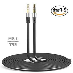Aux Cord Audio Cable 5ft  3.5 mm male to male Line in Auxili