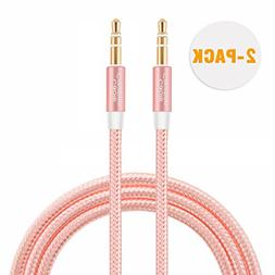 CableCreation  3.5mm Auxiliary Audio Cable 3 Feet Slim and S