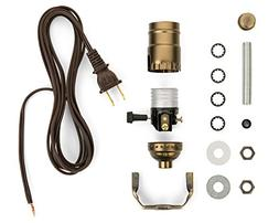 Lamp Wiring Kit - Make, Repurpose or Repair an Old Lamp with