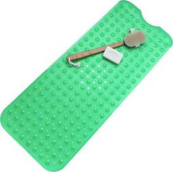 Bath Tub Green Bath Mat Non Slip Safety Anti Skid Shower Pro