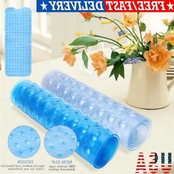 Bath Tub Mat Extra Long Anti Slip Bathroom Shower Clear Bath