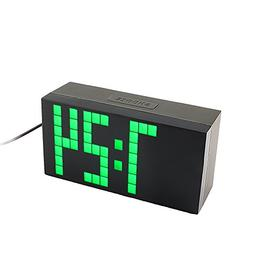 Yosoo Large Big 4 6 Digit Jumbo LED Digital Alarm Calendar S
