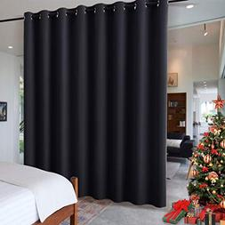 RYB HOME Black Privacy Office Divider Panel Extra Wide Long
