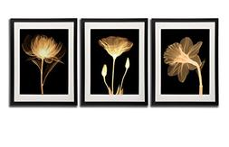Black White And Gold Wall Art Canvas Prints Decor Framed Flo
