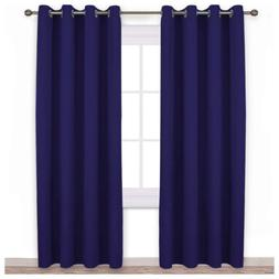 NICETOWN Blackout Curtains and Drapes for Kitchen - Extra Lo
