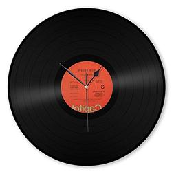 Bob Seger Record Clock Classic Artist Label Series - VinylSh