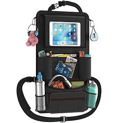 Car Back Seat Organizer with Larger Protection & Storage - 1