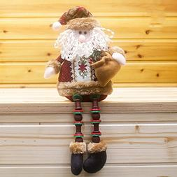 Gaosaili Christmas Standing Figurine Toy Xmas Home Indoor Ta
