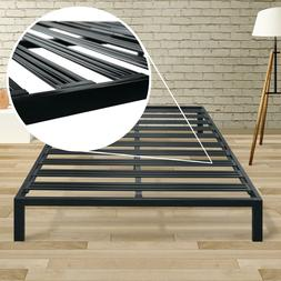 Classic 14'' Metal Platform Bed Frame with Extra Sturdy Heav