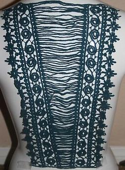 clearance 1 extra long teal green large