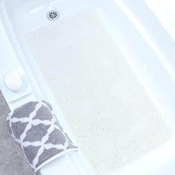 SlipX Solutions White Comfort Foam Bath Mat Feels Great on T