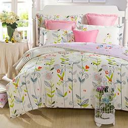 Warm Embrace 100% Cotton Duvet Cover Set, Duvet Cover and 2