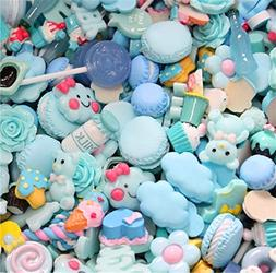 30 Pack Cute Candy Slime Beads Fruit Dessert Ice Cream Resin