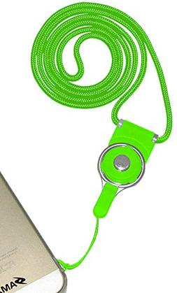 Amzer Detachable Cell Phone Neck Lanyard - Retail Packaging