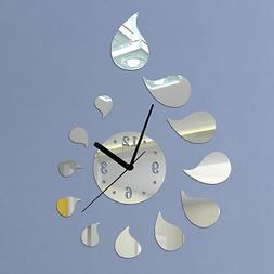 DIY - Do It Yourself New Wall Mirror Clock Made of Acrylic M