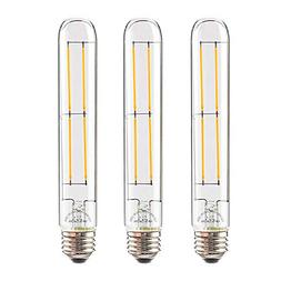 Leadleds 6W Edison Bulb Vintage Long Tubular Night Light Bul