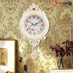 European Retro Swing Clocks Wall Clock Fashion Simple Living