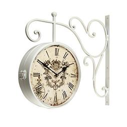 DecentHome European Two Faces Dual side Antique Vintage Circ