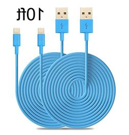 Firefox cable 2PCs 10ft Extended Extra Long 8 Pin to USB Syn