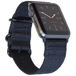 Carterjett Extra Large Nylon NATO Compatible Apple Watch Ban