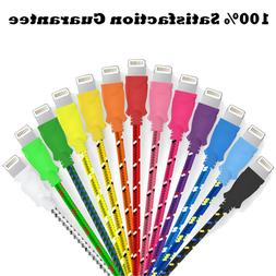 Extra Long  Fiber Cloth Sync & Charge USB Android Cable - As
