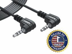 Extra Long 12 feet 3.5mm 3 ring Video AV cable male to male