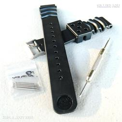 Extra Long 18mm Watch Band Strap Straps for Men with Large B
