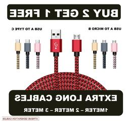 extra long 1m 2m 3m usb data
