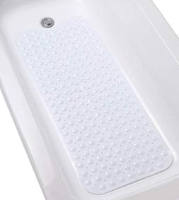 Brand New Extra-Long ANTI-MICROBIAL Non-Slip Bath Tub Mat Vi