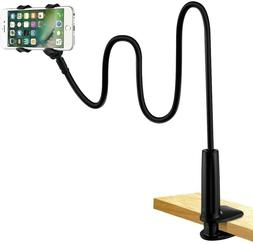 EXTRA LONG ARM Mount Lazy Holder Stand Bed Clamp For iPhone
