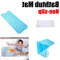 Extra Long Bath Mat Non Slip Tub Bathroom Bathtub Safety Sho