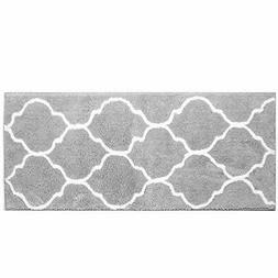 HEBE Extra Long Bath Rug Runner Non Slip Absorbent Bath Mats