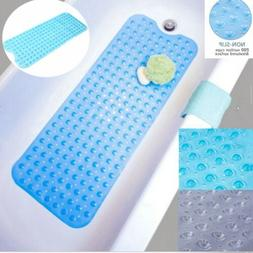 Extra Long Bath Tub Mat Non Slip Safety Non Skid Shower Prot