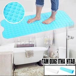 Extra Long Bath Tub Mat Shower Safety PVC Bathroom Anti-skid