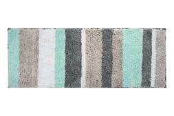 HEBE Extra Long Bathroom Runner Rug Non-Slip Microfiber Bath